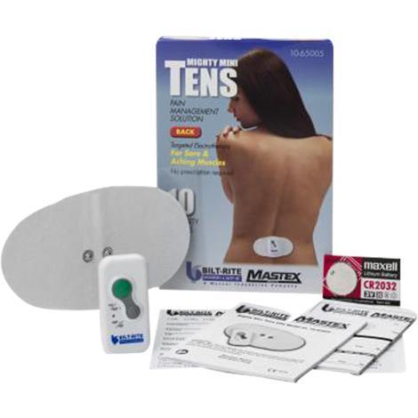 Bilt-Rite Pain Management Solution Mini TENS Device,Mini TENS Device,Each,10-65005