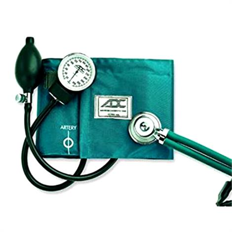 American Pro Combo II Kit Cuff and Stethoscope,Black,Each,768641BK