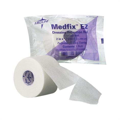 Medline MedFix EZ Dressing Retention Tape,4 x 11yd,Each,MSC4104H