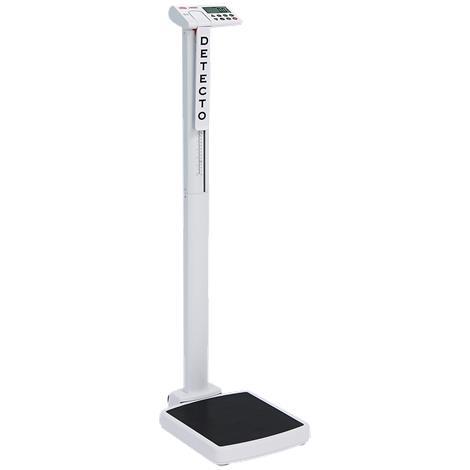 "Detecto Solo Digital Eye-Level Physician Scale,Platform Size: 14""W x 15""D x 2.5""H,Each,Solo"