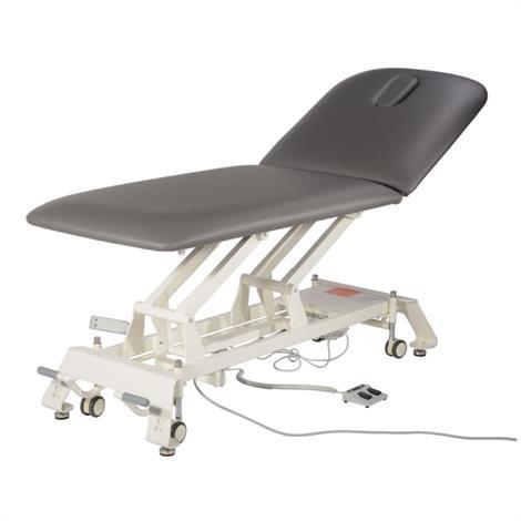 Hausmann 6082 Titan Series 2-Section Hi-Lo Backrest Treatment Table,Treatment Table,Each,6082