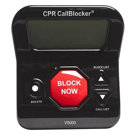 CPR Call Blocker V5000 Call Blocking Device,Call Blocking Device,Each,54412