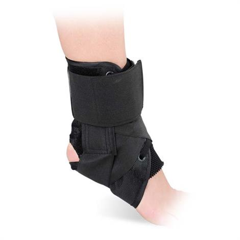 Advanced Orthopaedics Canvas Lace-Up Ankle Brace,Large,Each,467