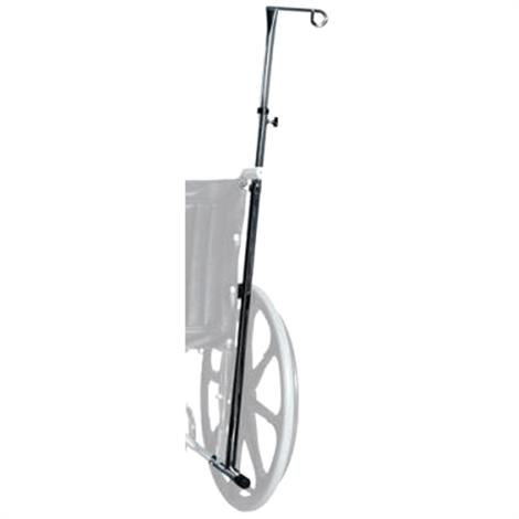 Graham Field Lumex Wheelchair One Hook IV Pole,Graham Field Lumex Wheelchair One Hook IV Pole,Each,GF1844W