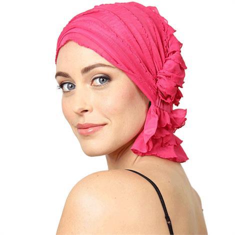 Chemo Beanies Carol Hot Pink Ruffle,Hot Pink Ruffle,Each,3660