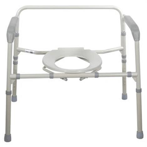 Graham-Field Bariatric Steel Folding Commode,Folding Commode,Each,7109A-2