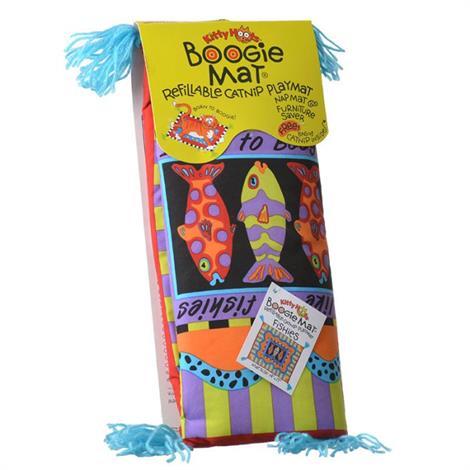 """Fat Cat Boogie Mat Refillable Catnip Playmat,Playmat - 17"""" Long x 14"""" Wide,Each,610104"""