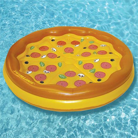 Swimline Personal Pizza Island Inflatable Swimming Pool Float For Kids,Inflatable Pizza Island,Each,90647