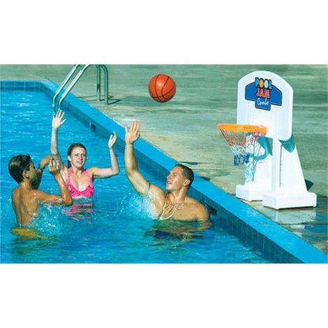Swimline Pool Jam Combo Inground Volleyball/Basketball Game,Basketball/Volleyball Combo,Each,9190M