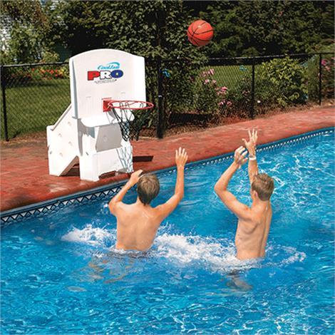 Swimline Cool Jam Pro Poolside Basketball Game,44W x 32H,Each,9195M