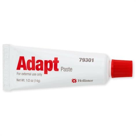 Hollister Adapt Ostomy Skin Barrier Paste,0.5oz (14g) Tube,20/Pack,79301