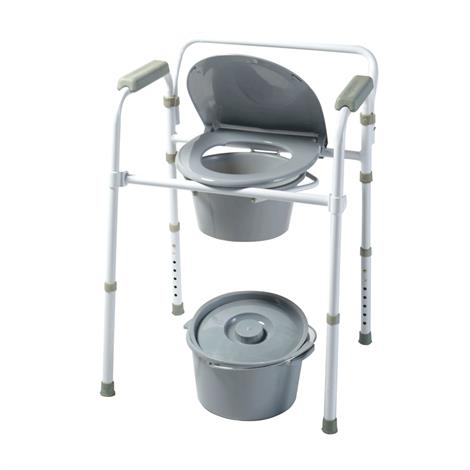 Homecraft Steel Commode,Steel Commode,Each,81561919