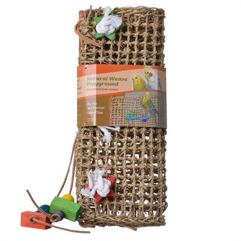 "Penn Plax Bird Life Natural Weave Bird Cage Climbing Exerciser,14"" Long x 14"" Wide,Each,BA1024"