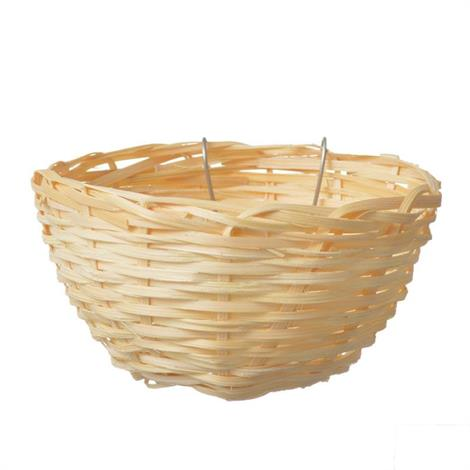 "Living World Wicker Canary Nest,4"" Long x 2"" Wide,Each,82000"