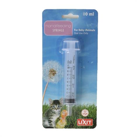 Lixit Hand Feeding Syringe for Animals,10 ml Hand Feeding Syringe,Each,30-0482-036 HFS10