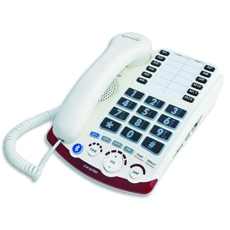 Serene Innovations High Definition Amplified Corded Telephone,HD-70 Amplified Bluetooth Phone,Each,HD 7010