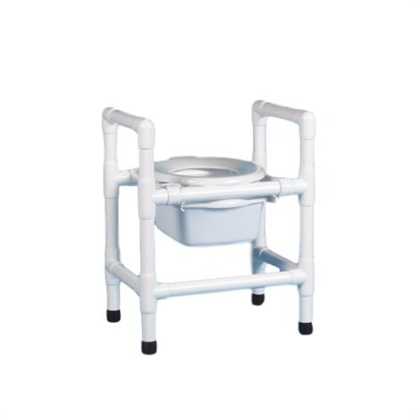 "Duralife Economy 3-In-1 Commode,27""H x 22""W x 16""D,Each,DLF-90"