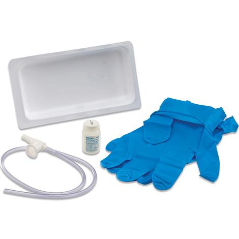 Covidien Kendall Argyle Graduated Suction Catheter Tray With Sterile Saline Bottle,10FR (3.33mm),24/Case,12102