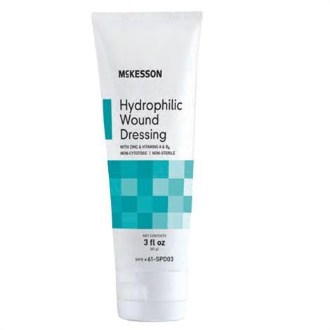 McKesson Hydrophilic Wound Dressing,3fl oz (85gm),Tube,Each,61-SPD03