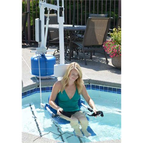 Aqua Creek Scout 2 Pool Lift,With Adjustable Seat Pole,Without Anchor,Each,F-802SC2