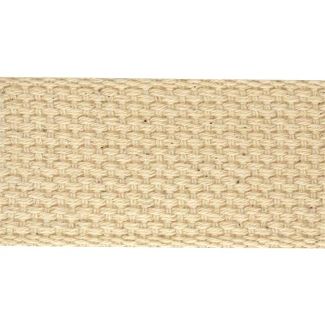 "Heavy Cotton Natural Woven Splint Webbing,1-1/2"" x 50 yds. (3.8cm x 46m),Each,NC12159-9"