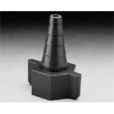 Salter Labs Nipple Nut Plastic Hose Barb Fitting,Standard D.I.S.S.,Each,1205-0-50