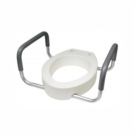 Graham-Field Elong Toilet Seat Riser Retail,Elong,2/Pack,6482ER-2