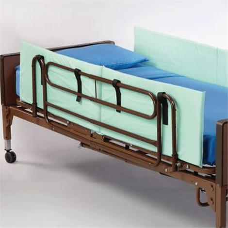 "Rolyan Side Bed Rails,Full Bed Rails,60"" x 15"" x 1"",2/Pack,81597913"