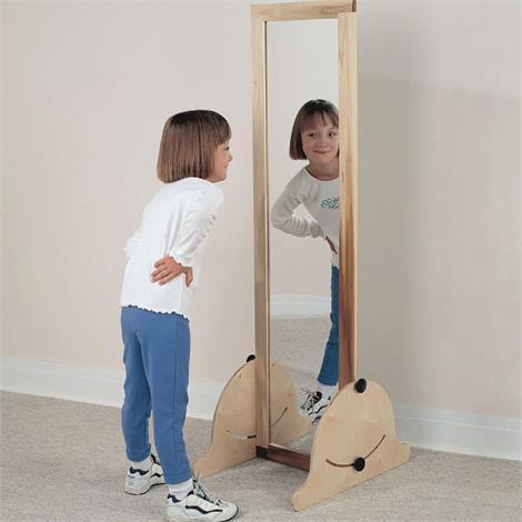 "Sammons Preston Pediatric Vertical and Horizontal Acrylic Mirror,15"" x 57"" (38cm x 145cm),Each,4967"