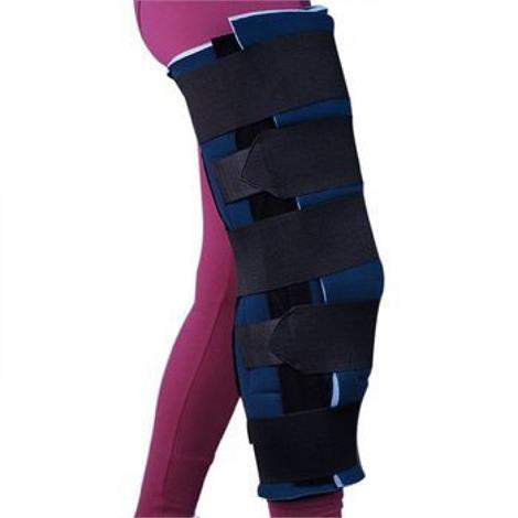 Image of Sammons Preston Knee Wrap and Ice Packs,Knee Immobilizer-X-Wide,Each,81552058