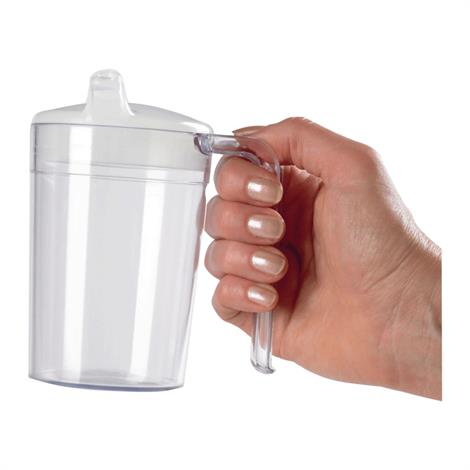 Clear Polycarb Mug,Holds 13.5oz,Each,81569656