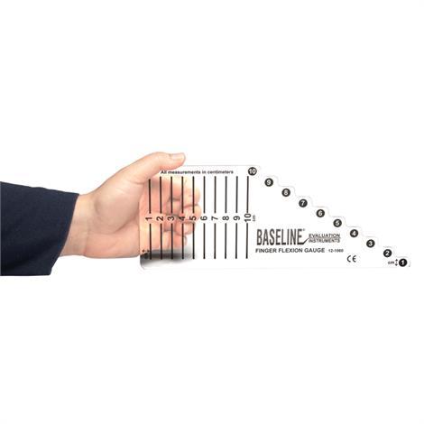 "Baseline Functional Finger Motion Gauge,10"" x 0.1"" x 4"",Each,#12-1060"