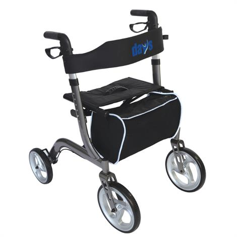 "Days Collapsible Rollator,18""W x 10""D,Each,7101999"
