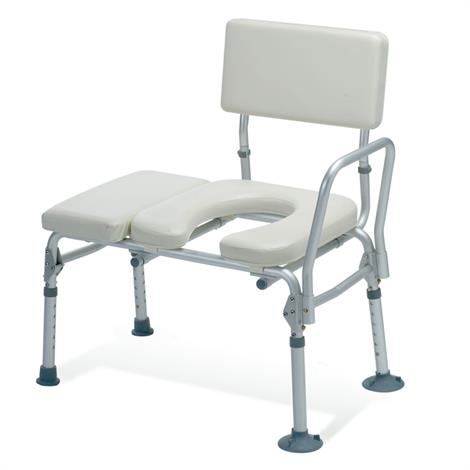 Guardian Padded Transfer Bench With Commode Opening,Transfer Bench,Each,G98013A MIG98013A