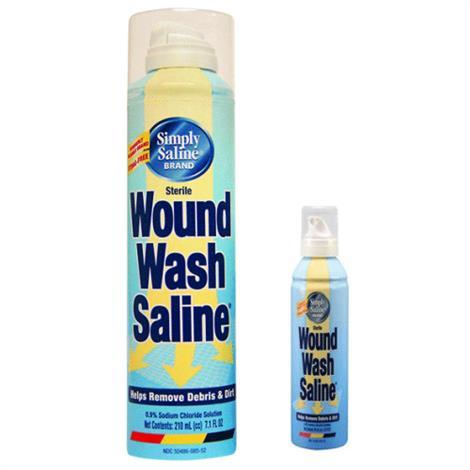 Church & Dwight Simply Saline Wound Wash,210cc,7oz Can,12/Case,B8552