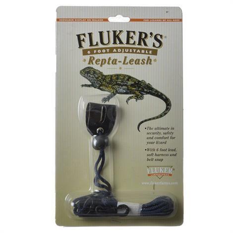 """Flukers Repta-Leash,Large - 5"""" Harness (6 Lead),Each,31004"""