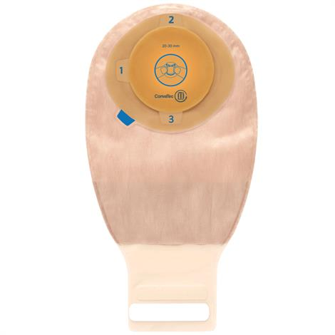 ConvaTec Esteem Plus One-Piece Extended Wear Transparent Moldable Drainable Pouch,10/Pack,413519