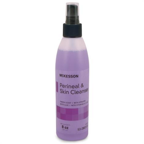 Mckesson Rinse-Free Fresh Scent Perineal Liquid Wash,Jug,1 Gallon,4/Pack,53-28011-GL
