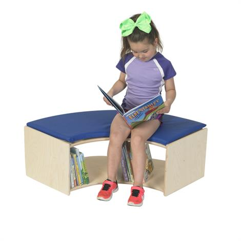 """Childrens Factory 90 Degree Bench,29.5"""" x 29.5"""" x 13"""",Each,ANG1670"""