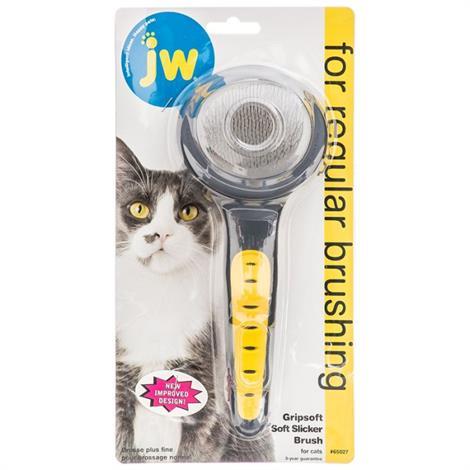 Jw Gripsoft Cat Slicker Brush,Cat Slicker Brush,Each,#65027