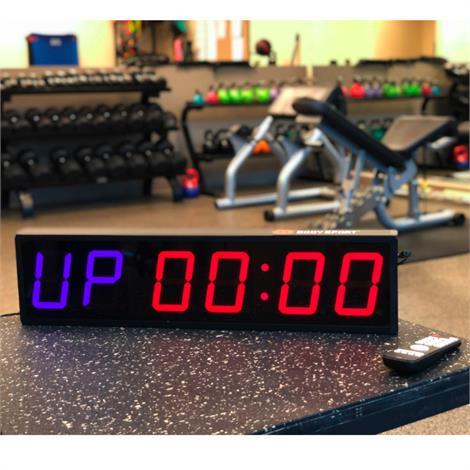 Body Sport Multifunctional Gym Clock,Gym Clock,Each,BDSGYMCLOCK
