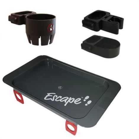 Triumph Mobility Escape Accessories Pack,Grey / Black,Each,500-4400