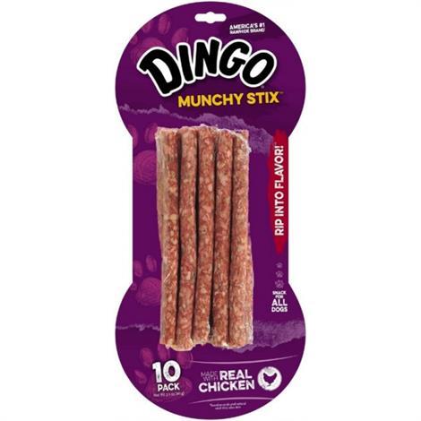 Dingo Muchy Stix Chicken & Munchy Rawhide Chew,50 Pack,50/Pack,22042