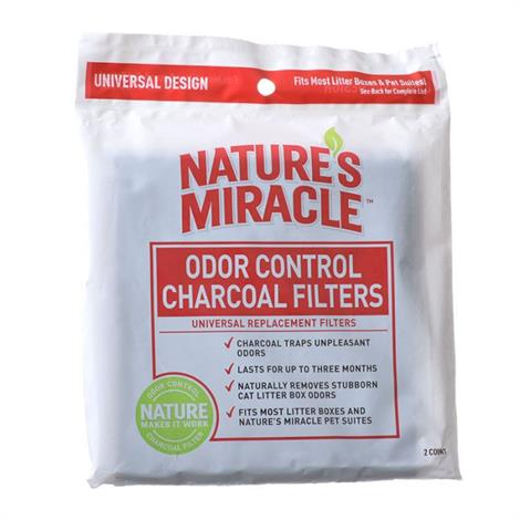 Natures Miracle Odor Control Litter Box Filter,2 Pack,Each,#P-5917