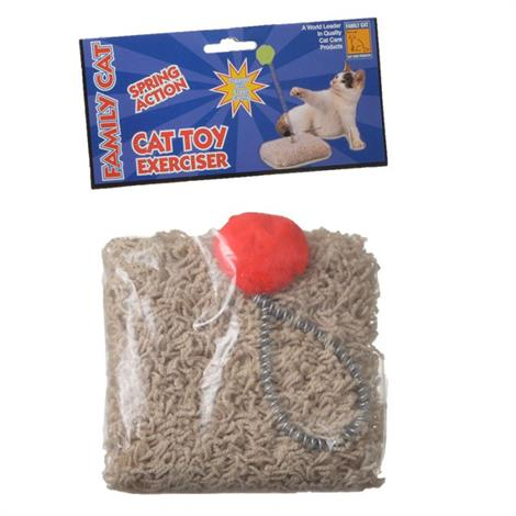 North American Cat Toy on a Spring,1 Pack,Each,49998