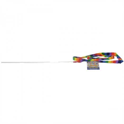 Cat Dancer Rainbow Charmer Wand Cat Toy,1 Pack,Each,301R