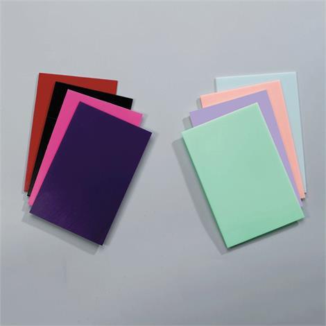 Rolyan Watercolors Splinting Material Sheet Pack,1/16