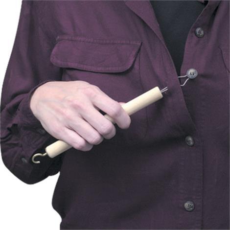 Mabis DMI Small Button Aid and Zipper Pull,Small Button Aid and Zipper Pull,Each,640-8104-0021