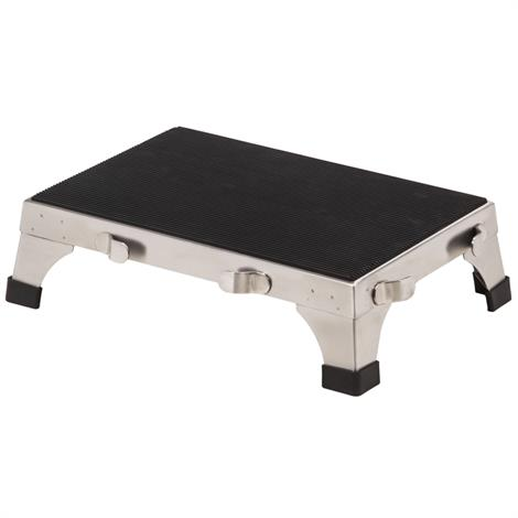 Clinton Stainless Steel Stacking Stool,Stainless Steel Stacking Stool,Each,SS-190