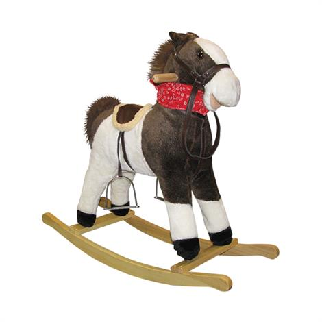 Charm Pinto Beans Rocking Horse With Moving Mouth and Tail,Horse With Moving Mouth and Tail,Each,82532